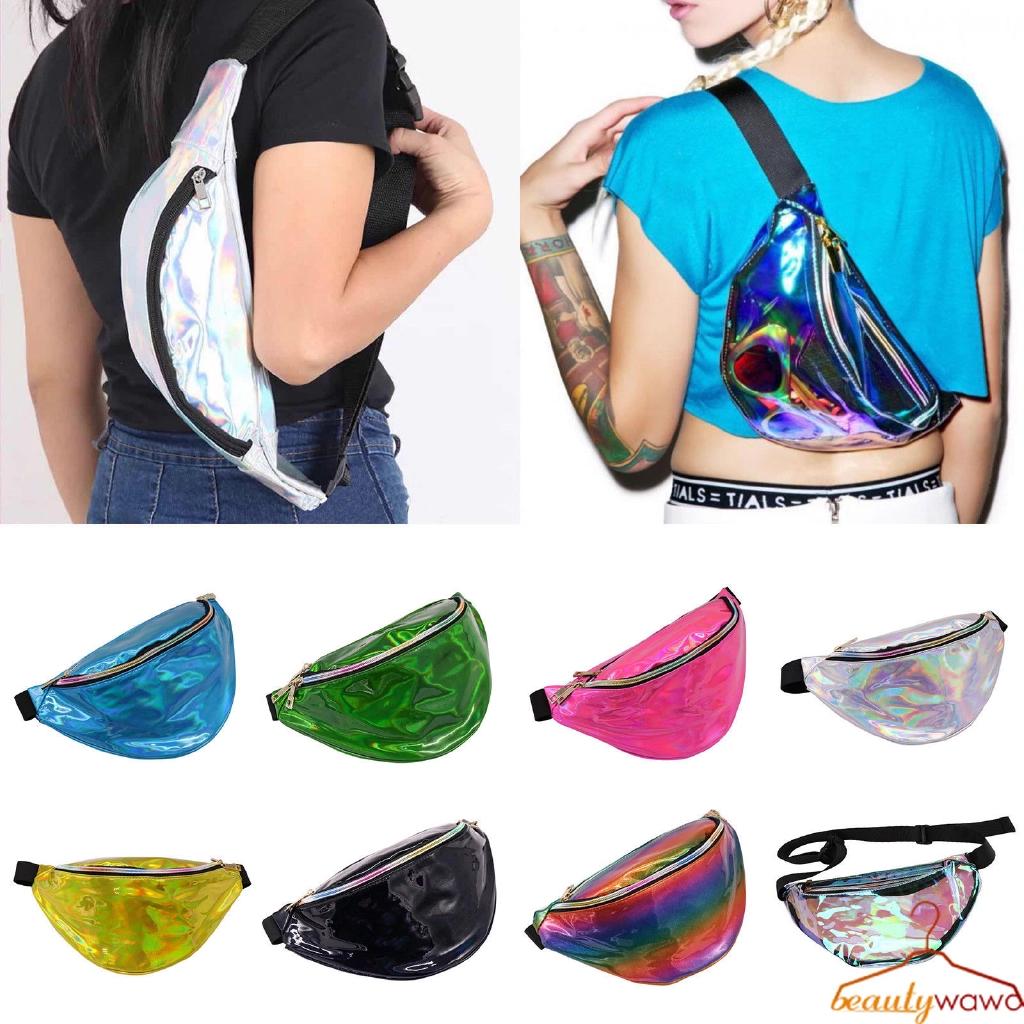 Unisex Elasticated Running Yoga Waist Belt Bag Zip Pouch Mobile Phone Money