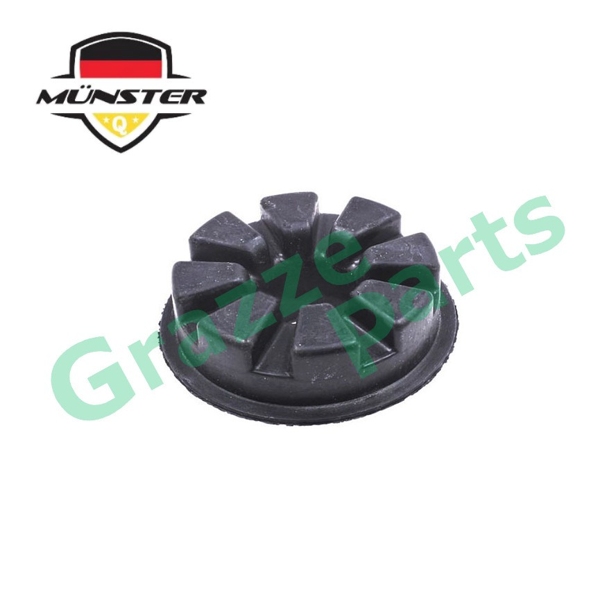 Münster Präzision Technology Coil Spring Rubber Rear Upper 55034-EE500 for Nissan Grand Livina Latio Sylphy