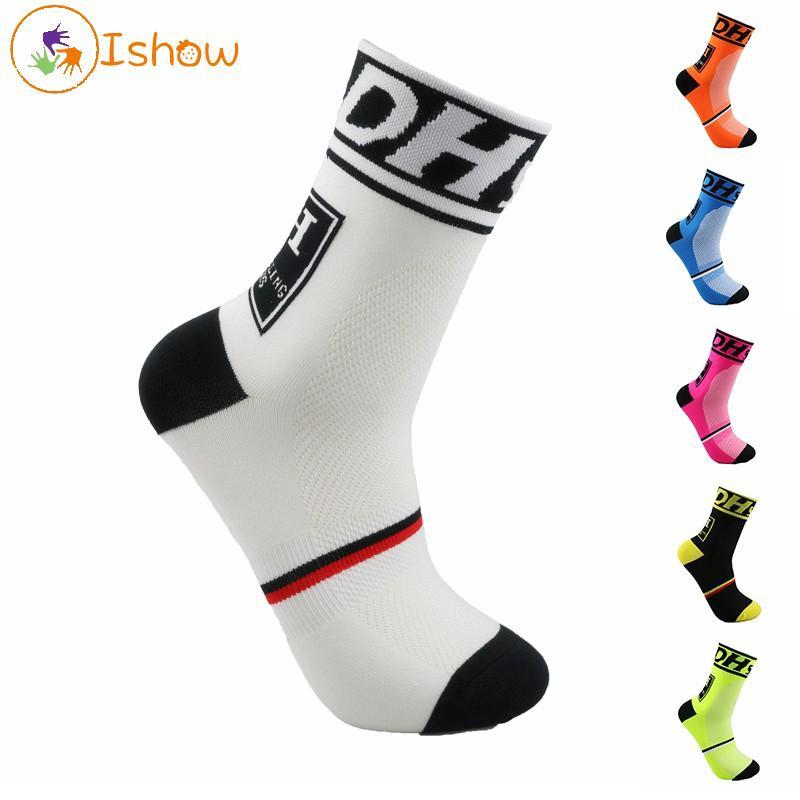 Socks Men Cycling Bicycle  Riding Socks Running sports socks Castelli Breathable Sock