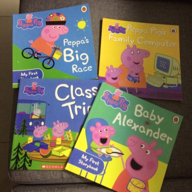 Clearance ~ last 50 sets 😊Peppa Pig English Story Book🌹