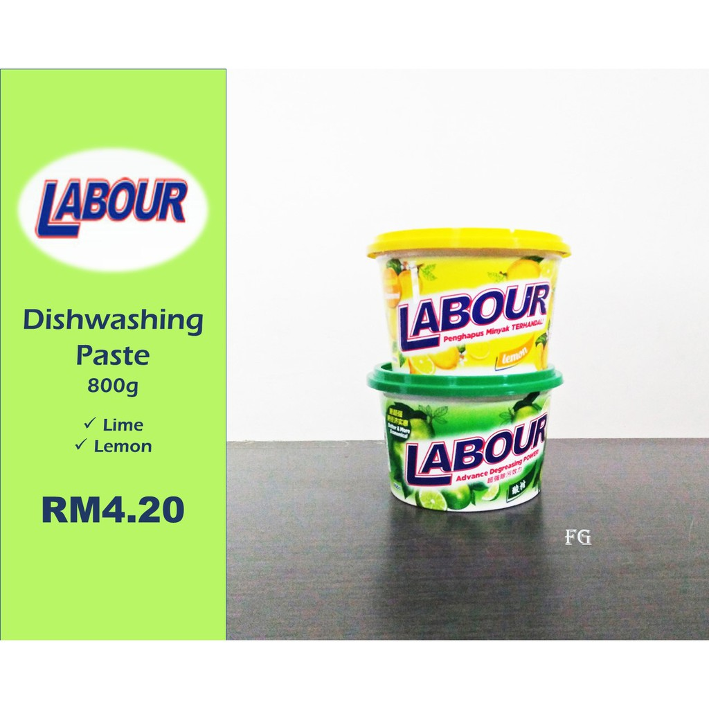 Labour Dishwashing Paste 800g