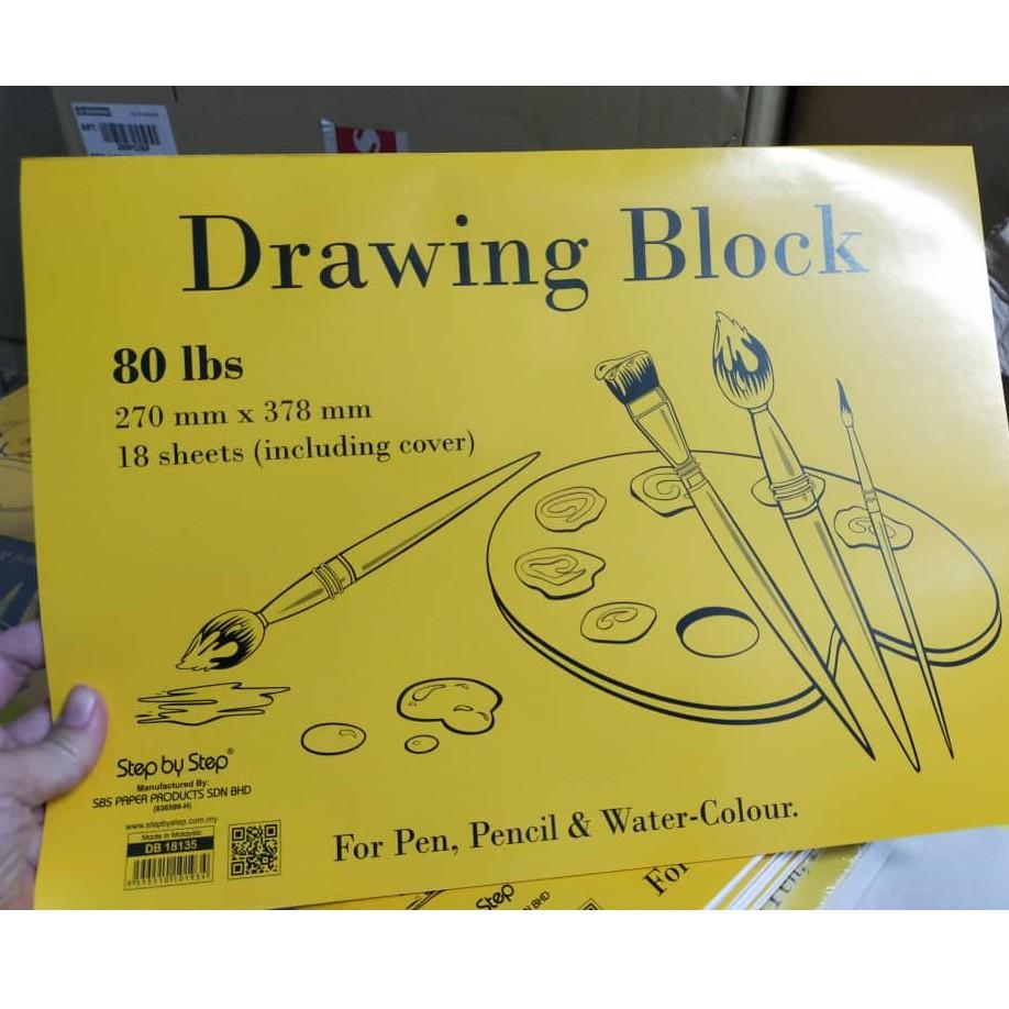 SBS  Drawing Block 60/80/100lbs