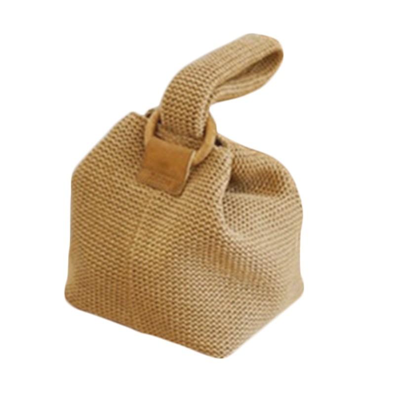 35bc457f0954c Summer Women Handbag Fashion Straw Bags Ladies Beach Straw Bag Female  Rattan Bag Small Bags For Wome