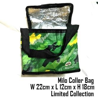 Limited Edition Milo Nescafe Cooler Beg / Bag atau Beg Galas