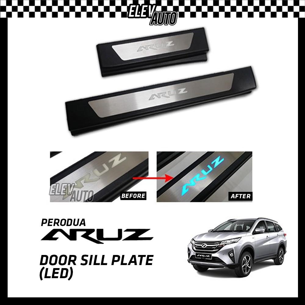Perodua Aruz LED Door Side Sill Step Plate