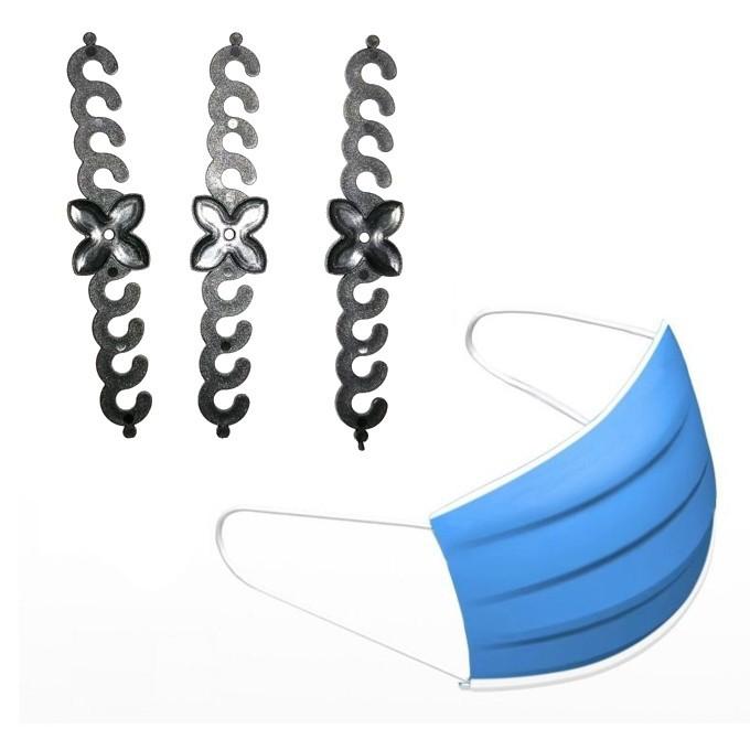 Mask Extension Hook Adjustable Hook Penyambung Topeng Muka