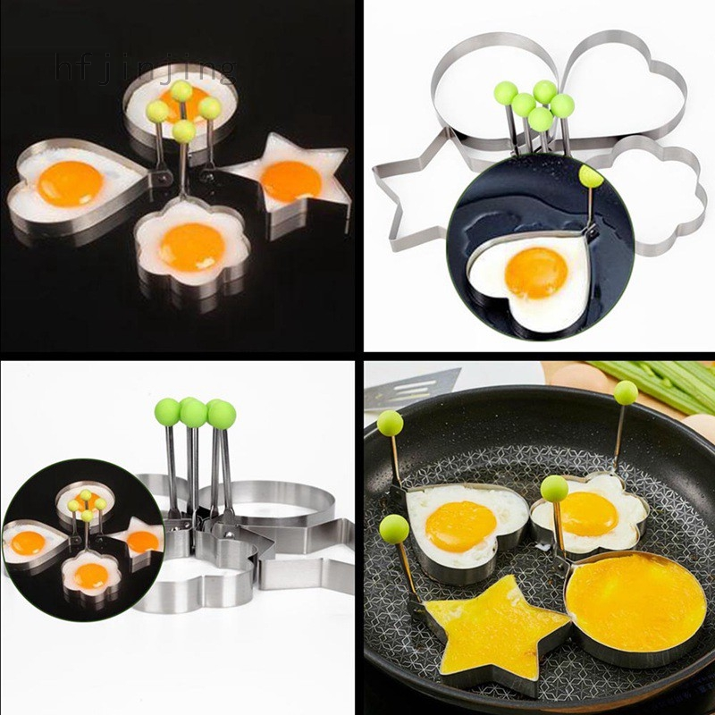 Cooking Kitchen Tool Stainless Steel Fried Egg Shaper Ring Pancake Mould Mold