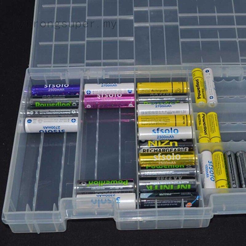 size 40 41a58 99955 Multi-section 5/7 battery storage transparent battery storage ...