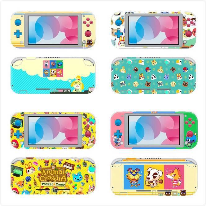 Nintendo Switch Lite Skin Sticker Set Animal Crossing Themed Stickers For Switch Lite Shopee Malaysia