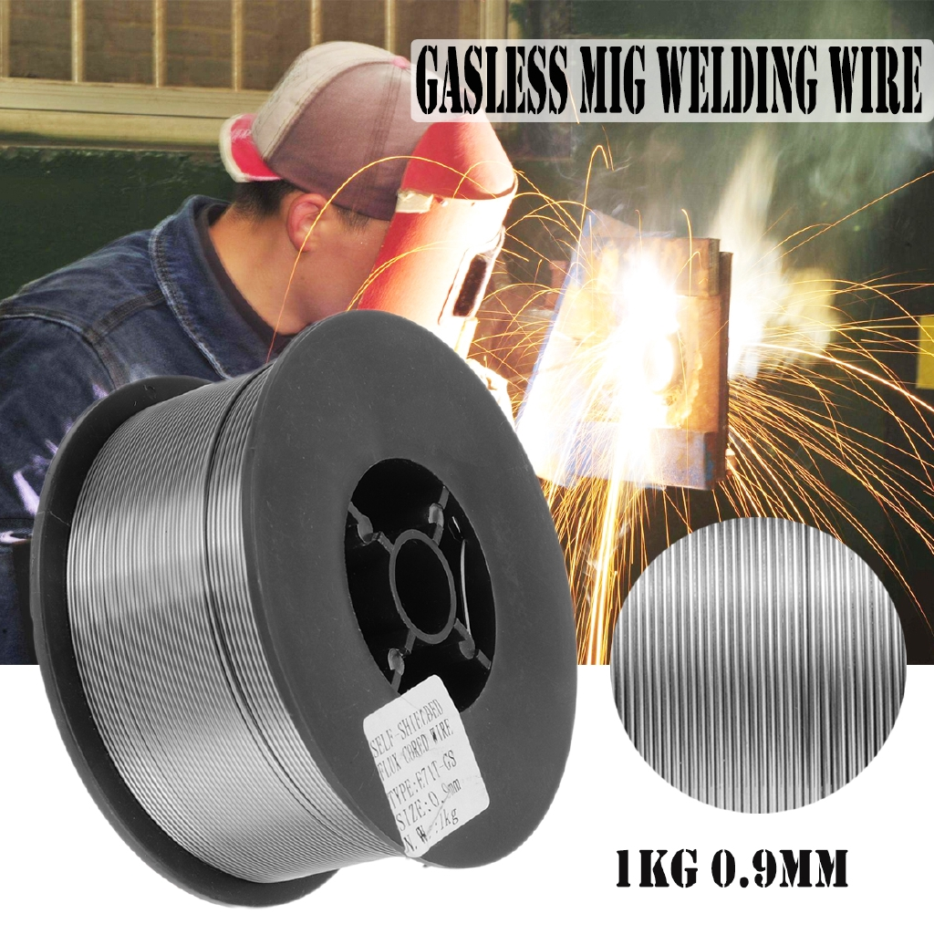 8 rolls 2 lb .035 Flux Cored E71T-11 Gasless Mild Steel Mig Welding Wire Core