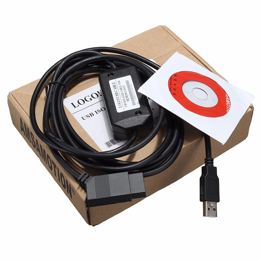 PLC Programming Cable LOGO USB-CABLE For 6ED1 057-1AA01-0BA0 Siemens LOGO