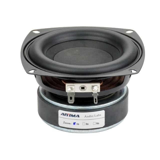 """1pcs 4/"""" inch 105mm 8ohm 8Ω 40W Bass Audio Speaker Stereo Woofer Loudspeaker Horn"""