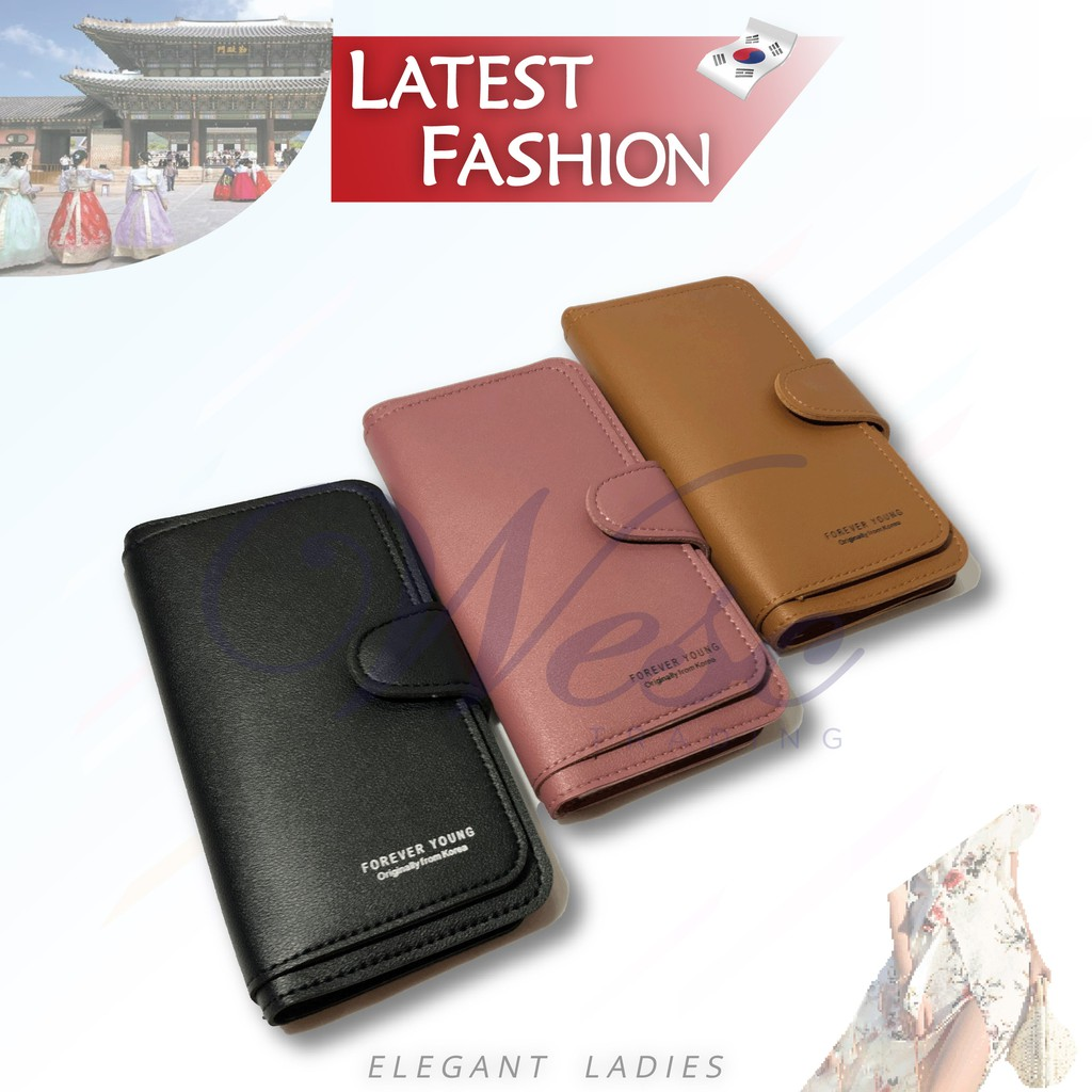 Korean Designer Fashion Latest Design Long Purse