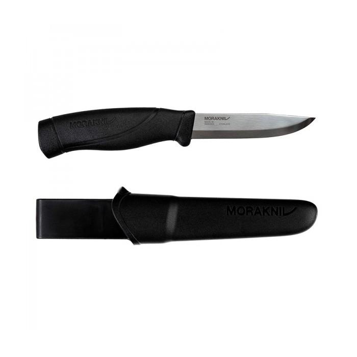 MoraKniv Companion Heavy Duty Black (S) Bushcraft Knife 13158