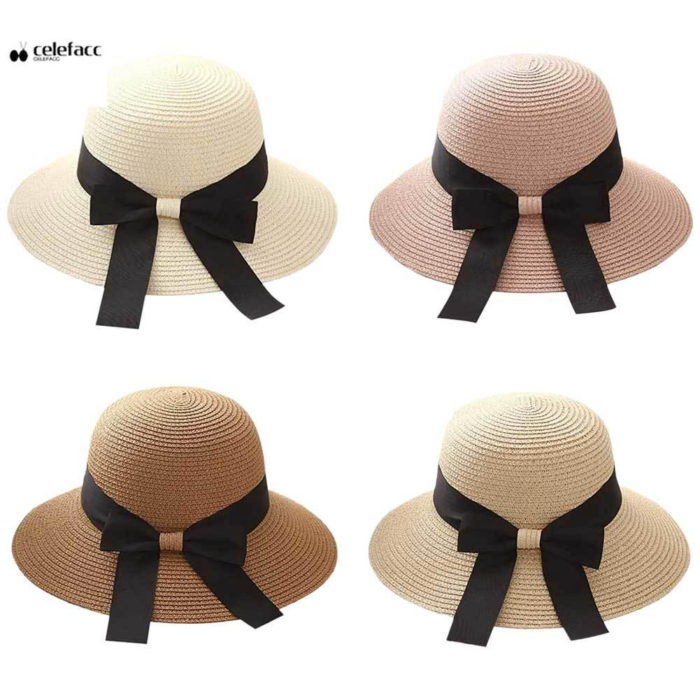 4aa4be35cd0 Sun Hat Summer Protection Brimmed Sun Hat for Lady Beach shade | Shopee  Malaysia
