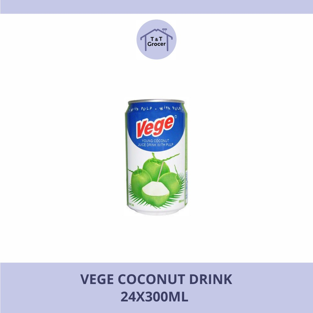 VEGE Coconut Drinks (24x300ml)