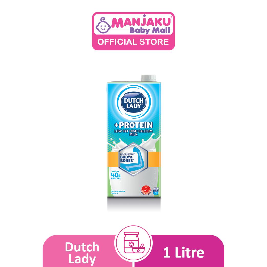 Dutch Lady UHT Milky Plus Protein Low Fat - 1L