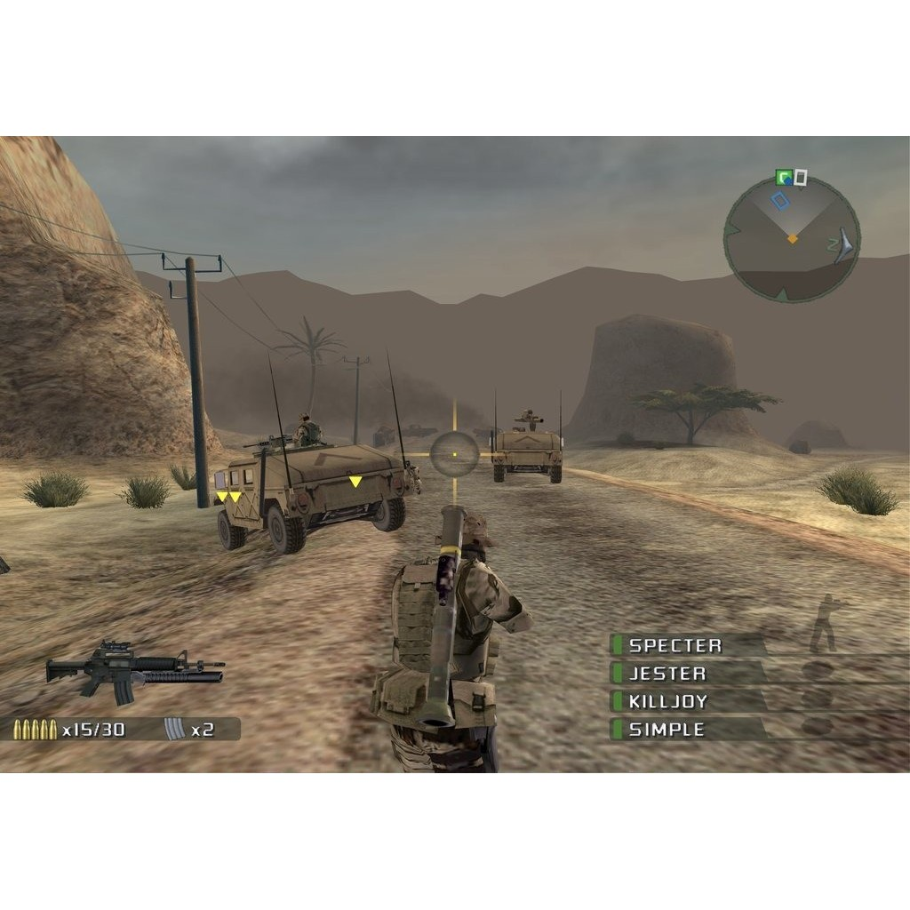 PS2 Game SOCOM Navy Seals 1 2 3 4, Combined Assault, Shooter Game, English version / PlayStation 2