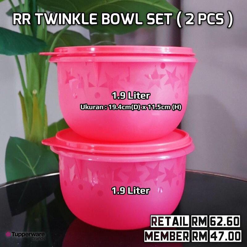 Tupperware Twinkle Bowl 1.9L