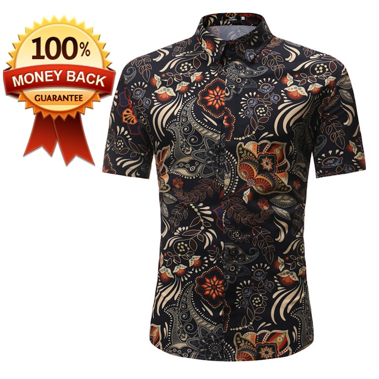 BAJU BATIK (MEN SHIRT BATIK) New Design