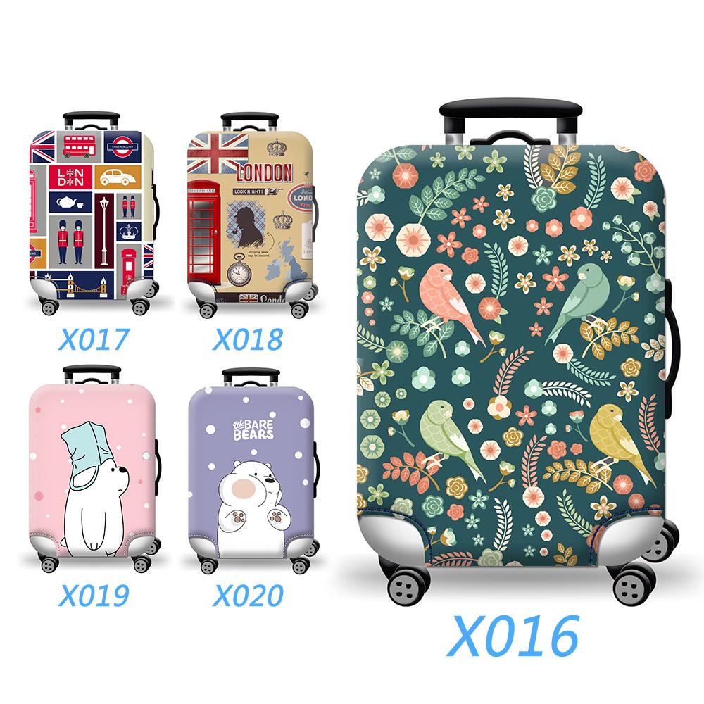 e618cd023d77 Colorful Washable Travel Luggage Protector Luggage Suitcase Cover ...