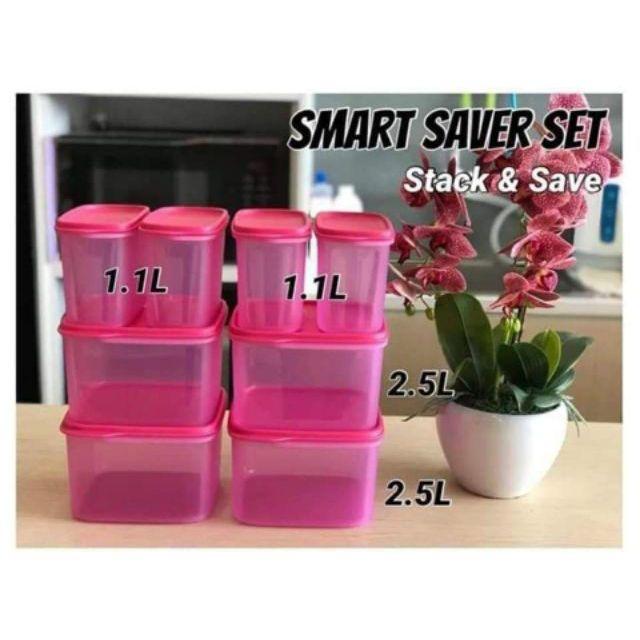 Smart saver square set 8pcs