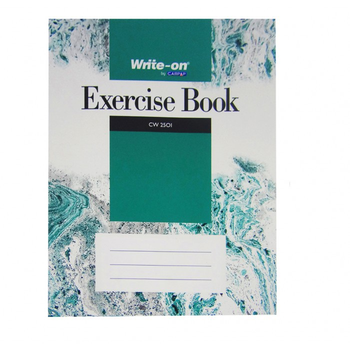 CAMPAP Write-On Exercise Book F5 80p 100p 120p 200p 2501 2502 2503 2504 Write On