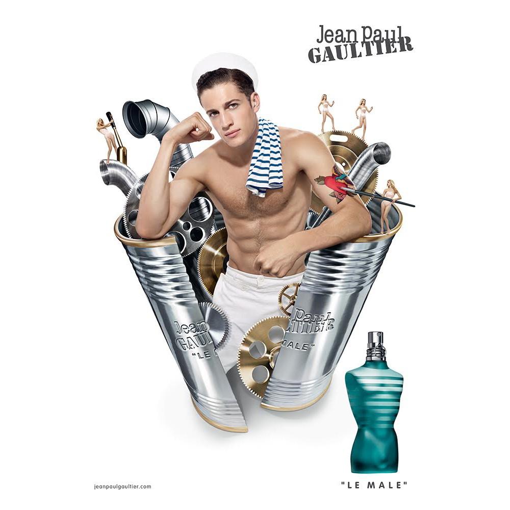 Le Male by Jean Paul Gaultier for Men EDT 75mL