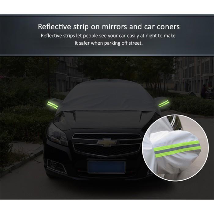 HALF Car Cover Rain Resistant, Dust UV Sunlight Resistant