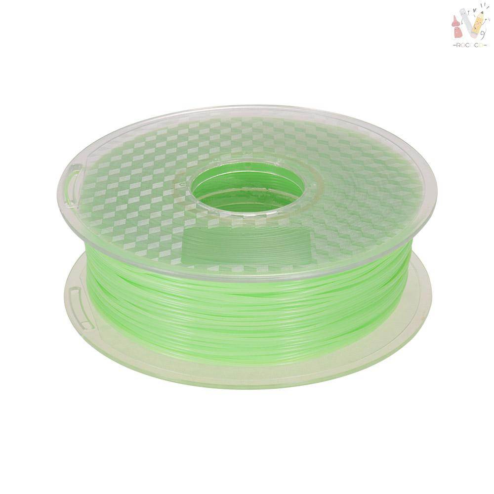 ❤RCC❤Sunlight/UV Light Color Changing Green to Dark Red PLA Filament 1kg/2.2lbs Spool 3D Printer Fil