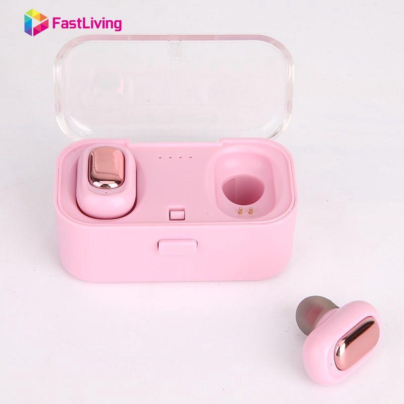 TWS-L1 True HIFI Wireless Bluetooth 4.2 Headset Sport Earbud Stereo Earphone Fas