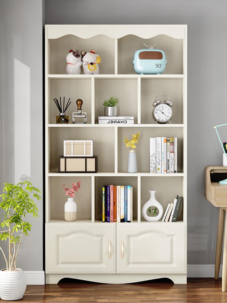 Bookshelf Living Room Bookshelf Bedroom Bookshelf Bookshelf Floor Simple Economical Living Room Children S Bookcase Simp Shopee Malaysia