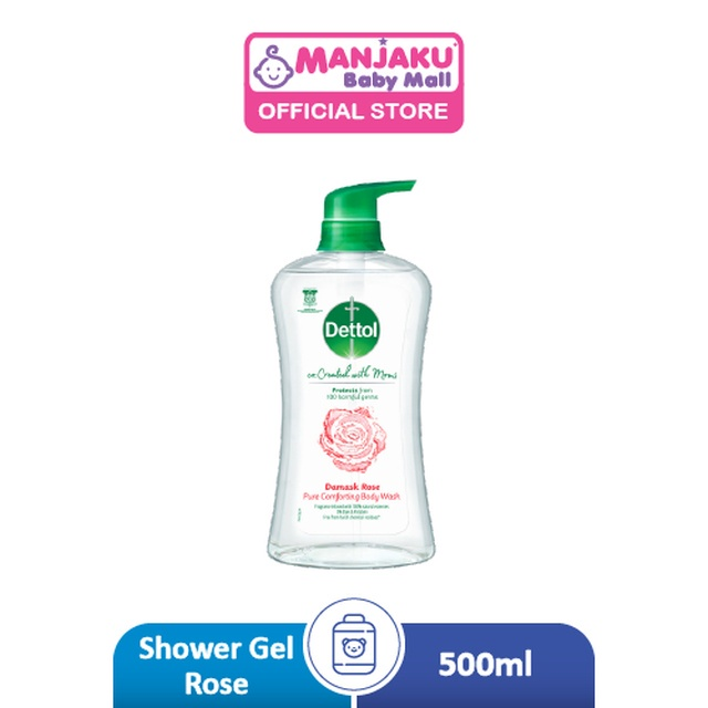 Dettol Co-Created with Mom Shower Gel Rose - 500g