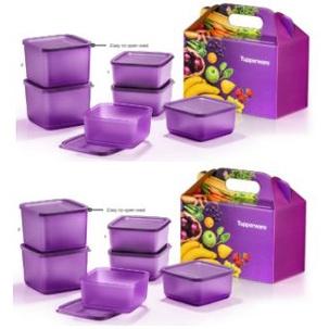 *New Offer* Tupperware So Fresh Set Purple