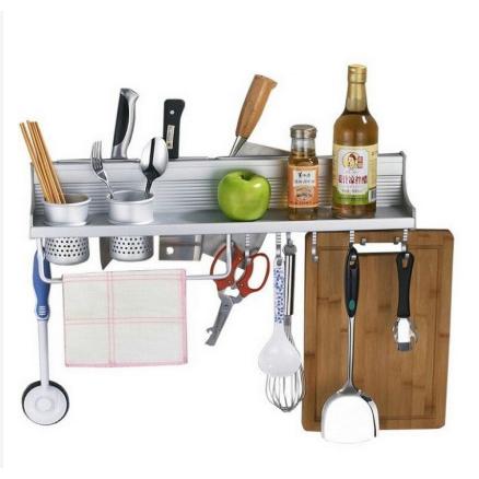 ⚡READY STOK⚡ Multi-Purpose Space Aluminum Kitchen Storage Rack (60cm)