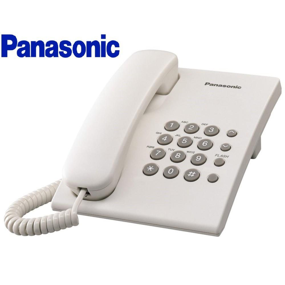 PANASONIC KX-TS500ML SINGLE LINE PHONE (WHITE)