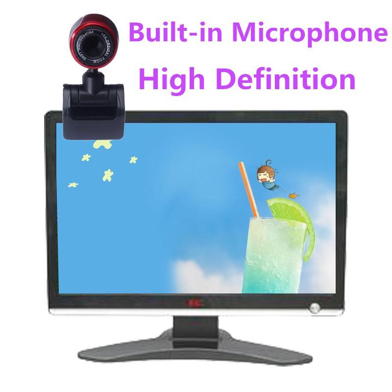 Webcam USB Web Camera With Microphone for Computer Desktop Laptop