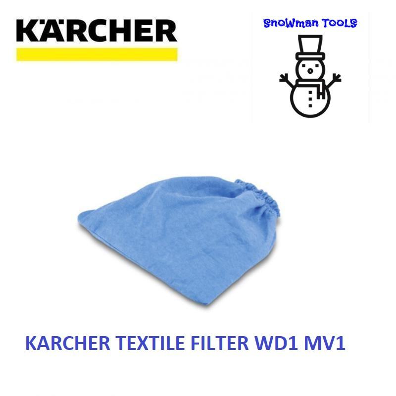 KARCHER WD1 MV1 VACUUM CLEARER TEXTILE FILTER 28630150