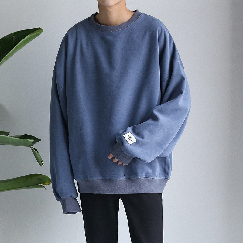 Winter Oversize Men's Loose Long sleeved Sweater Male Ulzzang Lovers Winter Coat Oversize