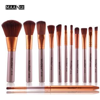 d909bd0cf256 Clearance Sale 12pcs Makeup Brushes Tool Set Power Foundation Eye ...
