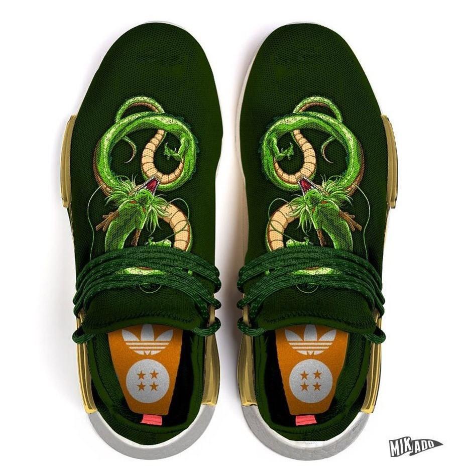 "096050122 Dragon Ball Z x adidas NMD Human Race ""Shenlong"""