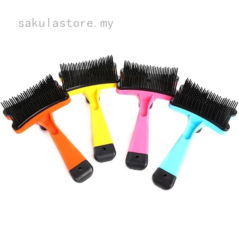 Stainless Steel Dog Cat Toothed Flea Removal Cleaning Brush Comb Grooming XS