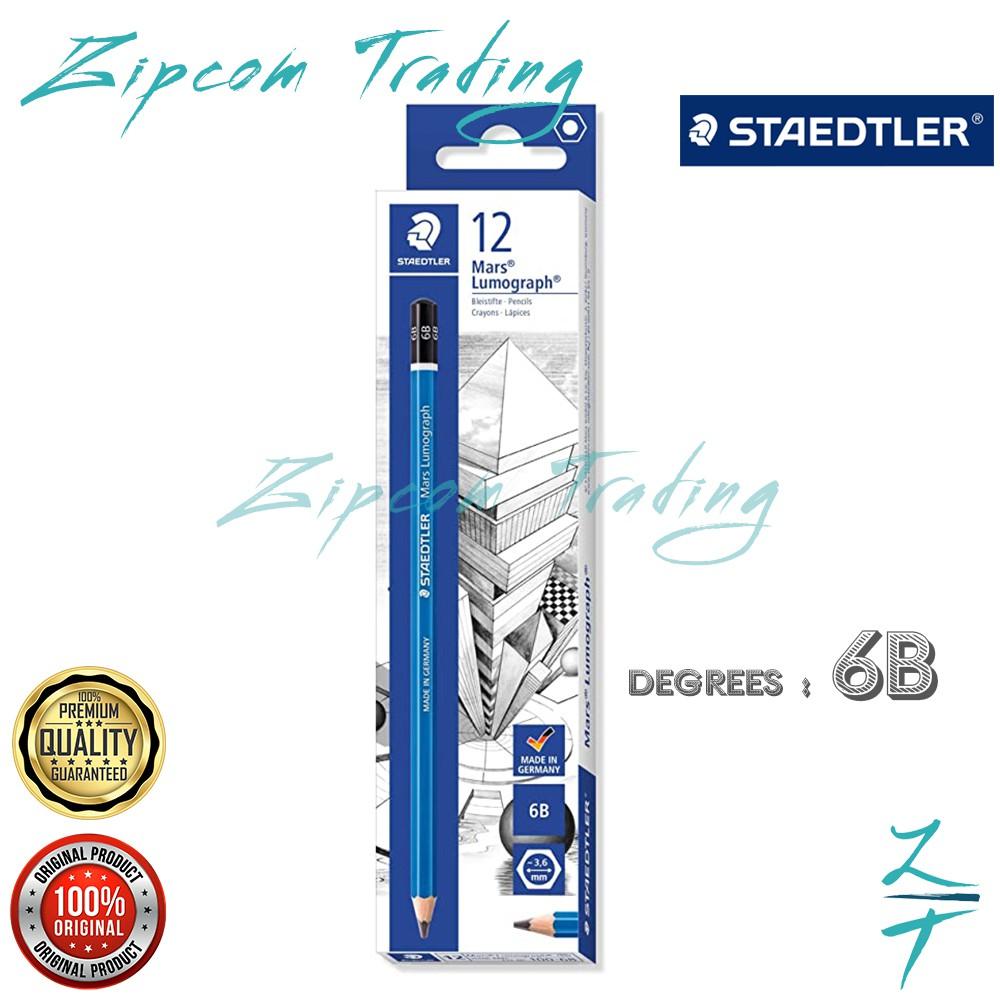 STAEDTLER Mars Lumograph 100 Premium Quality Pencil ( 12Pcs/1Box )