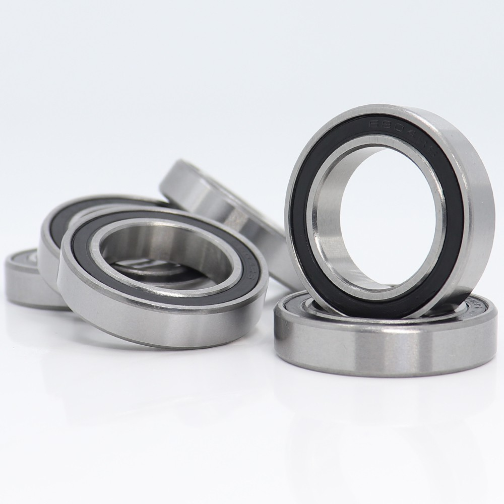20mm*32mm*7mm 2PCS 6804-2RS 6804RS Deep Groove Rubber Shielded Ball Bearing