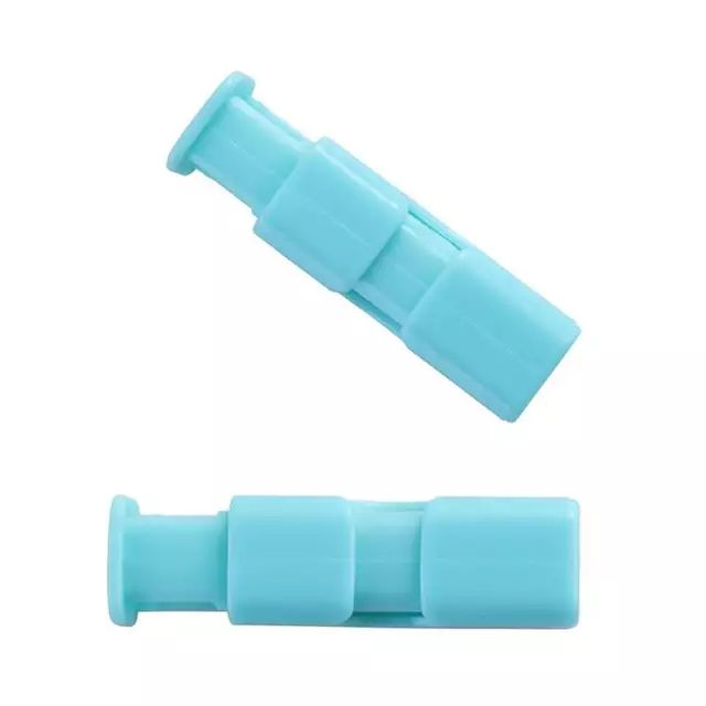 Food Sealing Clip Plastic Bag Clips Squeeze and Lock Sealer Fresh-Keeping Clamp Bag Clips Random Color