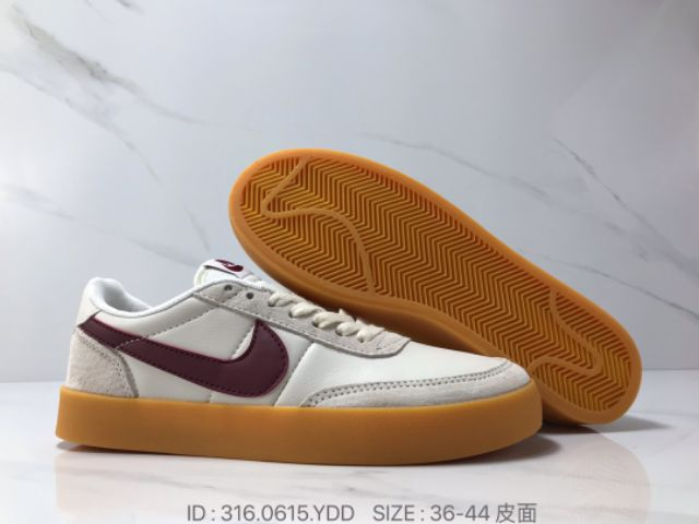 Nike Sb Kill Shot 2 Leather Low Cut (Maroon) Premium - 36-44 EURO