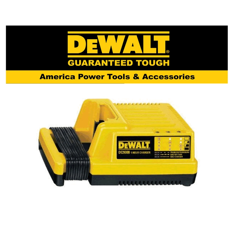 READY STOCK!!DEWALT DE9000-QW CHARGER 36V (6Ah)EASY USE SAFETY GOOD  QUALITY