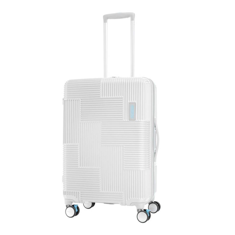 American Tourister  VELTON  SPINNER 69/25 EXP TSA-WHITE