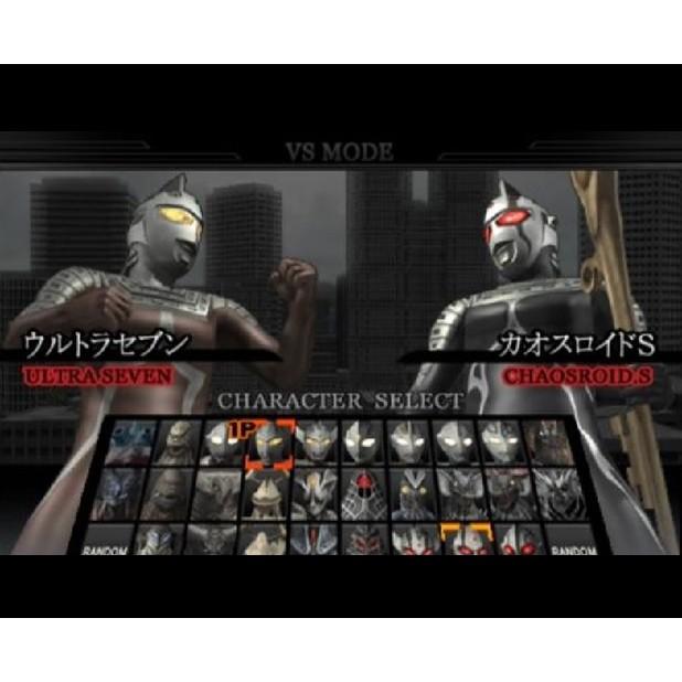 PS2 Game Ultraman Fighting Evolution 2 3 Rebirth, Japanese version, Fighting Game/ PlayStation 2 / PlayStation 3
