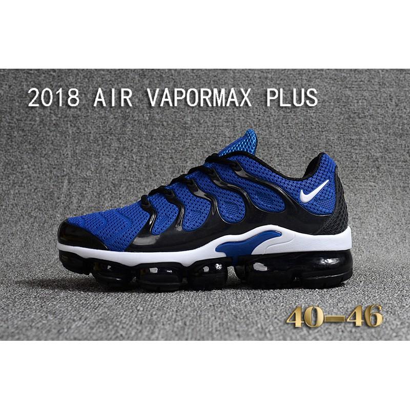 more photos 8d644 27486 NIKE AIR VAPORMAX PLUS TN Running Shoes Men Black Size Euro 40-46   Shopee  Malaysia